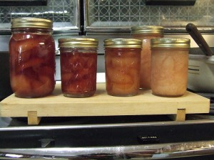 You can find our recipe for pear preserves at the N.C. Folklife Institute's website.