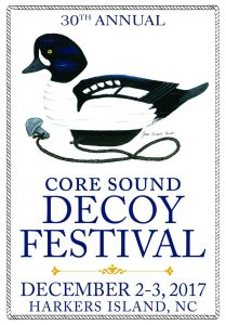 You can see the guild's decoys at the 30th annual Core Sound Decoy Festival at the Harkers Island Elementary School on Harkers Island, N.C. on Dec. 2-3.