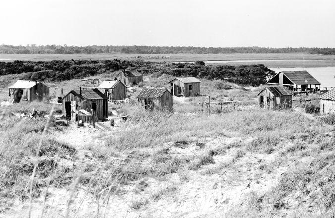 Brown's Island, N.C. fish camp