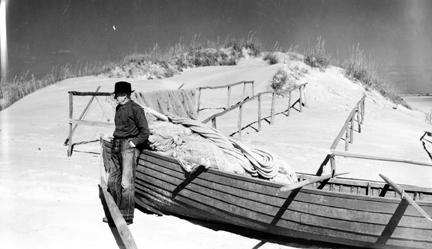 Briant Gillikin, fisherman, Brown's Island, N.C.