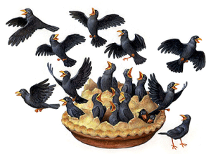 """Not surprisingly, given how many were killed, quite a few people developed a taste for bobolinks and other blackbirds. """"For a dainty supper,"""" James Sprunt wrote in 1897, """"a fat rice bird is perhaps the most delicious morsel that ever tickled the palate of an epicure."""" For a more recent recipe for blackbird pie, see the website for the N.C. Cooperative Extension Service's Martin County Center in Williamston, N.C."""