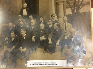 Members of the New Bern Bar Association, ca. 1890-1900. James E. O'Hara sits on the far right.