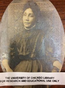 """Elizabeth """"Libby"""" O'Hara, ca. 1900."""