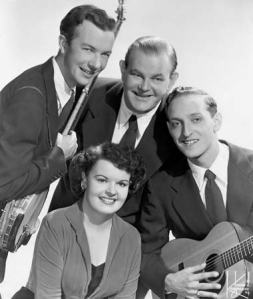 "Founded in 1948 by Pete Seeger, Lee Hays, Fred Hellerman and Ronnie Gilbert, the Weavers had their first big hit in 1950, with a recording of Lead Belly's ""Good Night, Irene"""