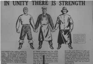 From the International Fishermen and Allied Worker, Sept. 1948.