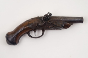Founded in 1791, the Massachusetts Historical Society was the nation's very historical society. Its collections include Paul Revere's pocket pistol....