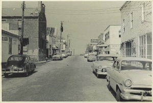 Front Street in the 1950s.