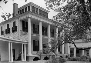 Hayes Manor House, Edenton, N.C., 1940. From the Historic American Buildings Survey images of North Carolina