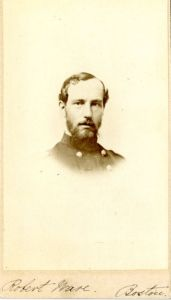 Dr. Robert Ware, Harvard Medical School class of 1856. Courtesy, Center for the History of Medicine, Countway Library of Medicine, Harvard Medical School