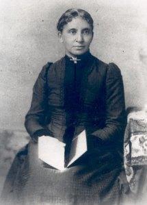 Charlotte Forten Grimke, poet, educator and anti-slavery activist. Courtesy, Moorland Spingarn Research Center, Howard University