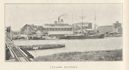 Navassa Guano Co., circa 1905. Courtesy, North Carolina Room, New Hanover County Public Library, Wilmington, N.C.