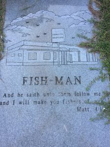 """And he saith unto them follow me and I will make you fishers of men."" Matthew 4:1"
