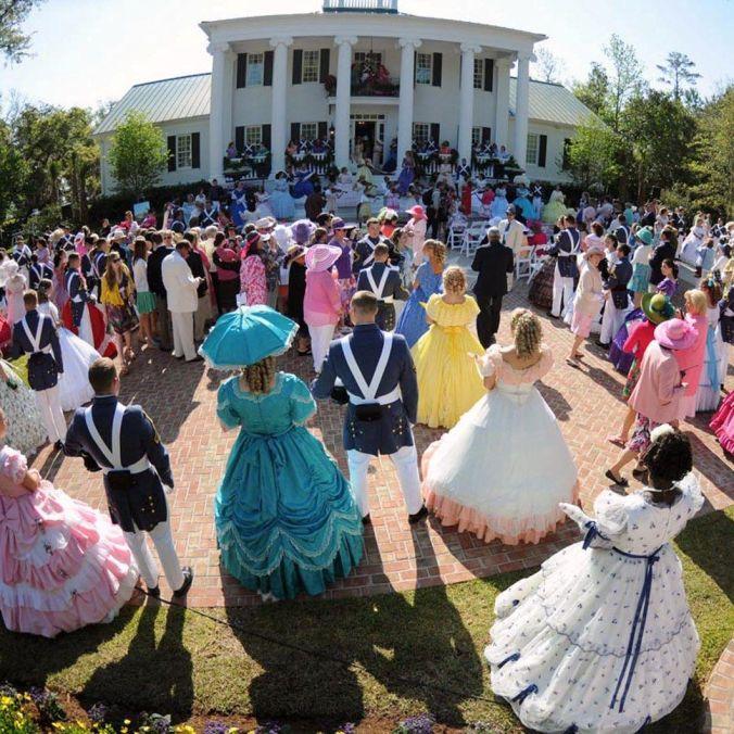 Azalea Festival garden party, 2007, Wilmington, N.C.