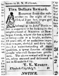 From the Elizabeth City Star and North Carolina Eastern Intelligencer, 7 July 1827