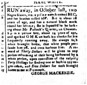 From the State Gazette of North Carolina, 12 March 1795