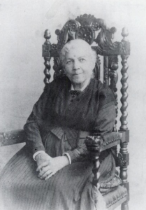 Harriet Jacobs in 1894, at the age of 81. From Harriet Jacobs, Incidents in the Life of a Slave Girl, Written by Herself, edited by Jean Fagan Yellin (Harvard U. Press, 1987)