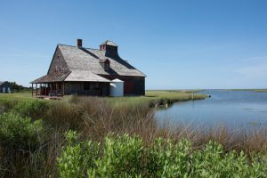 The old Coast Guard station, Portsmouth Island
