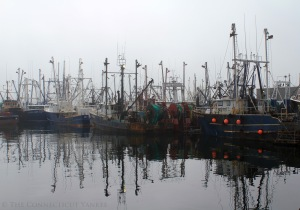 New Bedford waterfront. Courtesy, The Connecticut Yankee blog.