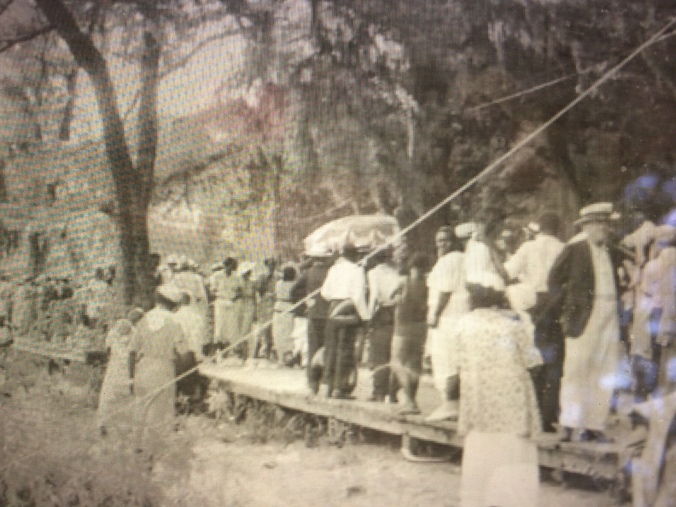 Independence Day celebration, Lake Waccamaw, early 20th century. Courtesy, Lake Waccamaw Depot Museum