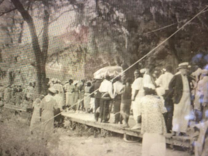 Independence Day celebration, Lake Waccamaw, early 20th century. Courtesy, Lake Waccamaw Depot Museum