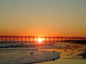 Sunset Beach. By Sarah McManus