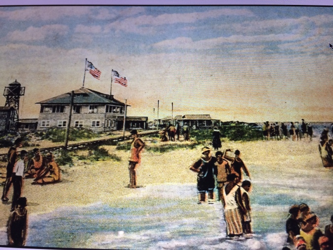 Postcard of Shell Island, circa 1923-26. From Beverly Tetterton, Lost but not Forgotten (John Blair, 2005). Courtesy, New Hanover County Public Library