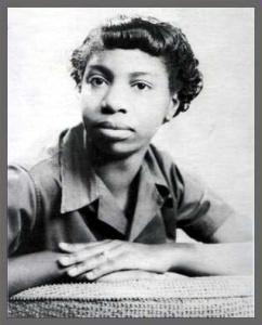 Eunice Waymon, age 12. From the Nina Simone Database Project