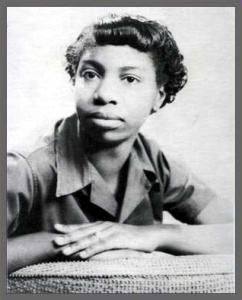 Eunice Waymon, age 12. From the Nina Simone Database Project