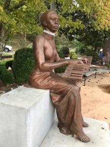Nina Simone statue, N. Trade St., Tryon, N.C. Photo by David Cecelski