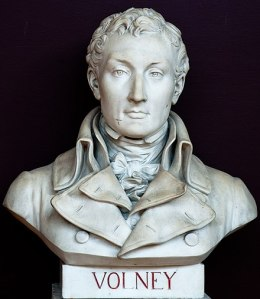 Bust of Constantin Volney at Versailles, ca. 1825.