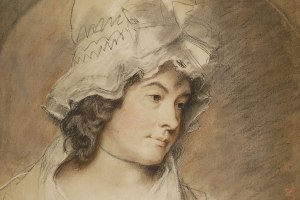 Charlotte Smith, by George Romney, 1791.