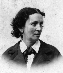 Another of Susan Johnson's granddaughters was the poet, writer and editor, Mary Bayard Devereux Clarke (1827-1886). Courtesy, North Carolina Museum of History. For more on Clarke, see esp. Live Your Own Life: The Family Papers of Mary Bayard Clarke, 1854-1886, edited by Terrell Armistead Crow & Mary Boulton Barden