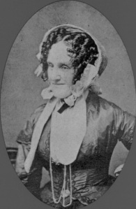 Susan Johnson's granddaughter, Catherine Ann Devereux Edmonston, ca. 1860. From a family album believed to have belonged to Catherine's sister-in-law, Ellen Mordecai, at the Mordecai House, Raleigh, N.C.