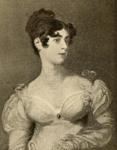 Esther Edwards Burr (1732-1758)-- mother of Aaron Burr, sister of Eunice Edwards Pollock Hunt and aunt of our diarist, Susan Johnson. From Jeremiah E. Rankin, Esther Burr's Journal (Howard University Print, 1901).
