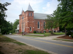 Evans Metropolitan AME Zion Church, Fayetteville, N.C. Founded and named after the Rev. Henry Evans, the church sits on the site of the African Meeting House that had been built not long before Susan Johnson's arrival in the town in 1800.