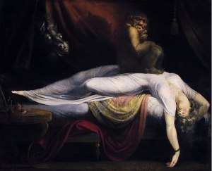 The Nightmare, Henry Fuseli, 1781. Oil on canvas. Courtesy, Detroit Institute of Arts