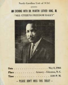 From the Leonard Ballou Papers, Elizabeth City State University Archives