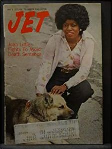 Joan Little on the cover of Jet magazine