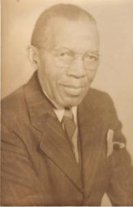 Principal W. C. Chance. Courtesy, Julia Chance and Martin County, NCGenWeb