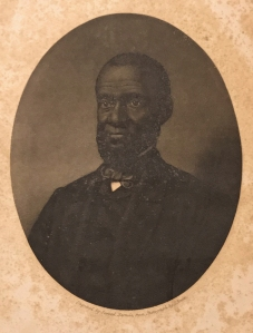 "Frontispiece portrait of Rev. Henry Highland Garnet for ""A Memorial Discourse by Rev. Henry Highland Garnet"" (Philadelphia, Joseph M. Wilson, 1865). Courtesy, Honey and Wax Booksellers"