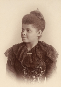 Ida B. Wells, ca. 1893. Photo by Mary Garrity