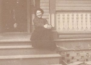 Lena Martin at her home in Tarboro, N.C., ca. 1890-1900. Courtesy, Edgecombe County Memorial Library