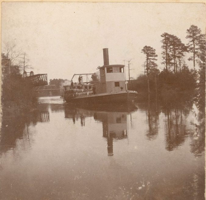 The steamer Tarboro, ca. 1900. Courtesy, Edgecombe County Memorial Library