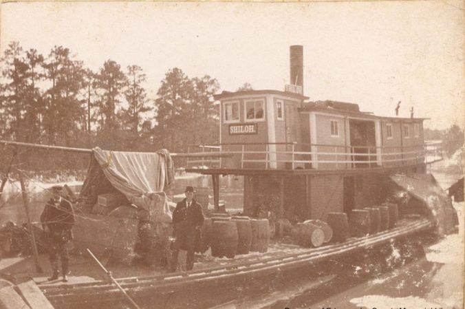 The steamer Shiloh, ca. 1895-1900. Courtesy, Edgecombe County Memorial Library