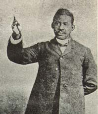 The Rev. William H. Robinson, ca. 1903-13. From From Log Cabin to the Pulpit; or Fifteen Years in Slavery (Eau Claire, Wis.: James H. Tifft, 1913), 3rd ed.