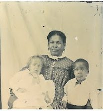 Martha Laughinghouse Weiker and her sons, ca. 1888. Born in Craven County, N.C., in 1848, she was one of at least 60 local free blacks that migrated to Ohio in the 1850s. From Ohio's Yesterdays, a blog from the Rutherford B. Hayes Presidential Library. Photo courtesy of Charles Weiker, Fremont, Ohio.