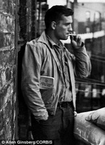 Jack Kerouac, 1953. Photo by Allen Ginsburg. Photo by Allen Ginsburg.
