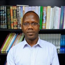 Professor Mbaye Lo, Duke University. Courtesy, Dept. of Asian and Middle Eastern Studies, Duke University