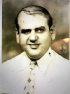 Rasheed Faiz, a Syrian immigrant, 1940. He emigrated to the U.S. in 1902 and opened a cafe a Greenville, in Pitt County, N.C. Courtesy, North Carolina Digital Collections