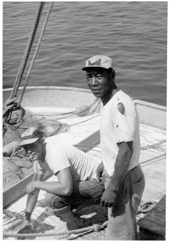 Julius Bryant worked in Philadelphia but also was a fisherman on Ocracoke. Photo courtesy, Ocracoke Preservation Society